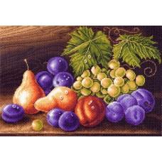 Фруктовая композиция Рисунок на канве 37/49 37х49 (27х39) Матренин Посад 1414