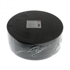 Эластичная лента-мягкая(резинка), 50м, 100мм, черная, 73%пол, 27%эл, руллон 955636