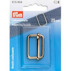 Застежка-пряжка для сумок, рюкзаков, ширина 25мм, сталь, светлого золота, Prym, 615804