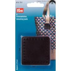 Фиксирующие накладки для ручек сумки 55*55мм, Prym, 615751