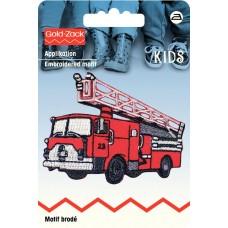 Термоаппликация Пожарная машина 55*70мм 925228