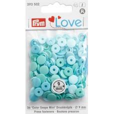 Серия Prym Love - Набор кнопок Color Snaps Mini, диаметр 9мм, Prym, 393502