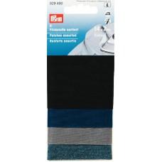 Ткань для заплаток, 100%хлопок, 14x7см, в ассортименте, 4шт в блистере 929480