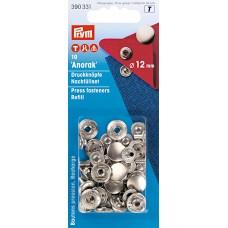 непришивные детали кнопки (латунь) для 390330 серебристый цв. 12 мм 390331