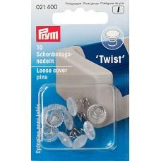 Булавки для мебельных чехлов Twist, Prym, 021400