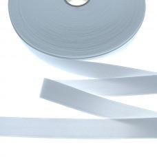 Эластичная лента-мягкая(резинка), 50м, 35мм, белая, 77%пол, 23%эл, руллон 955561