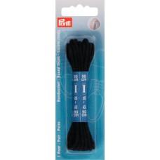 Круглые шнурки для ботинок 3 x 900 мм черный цв. 974830