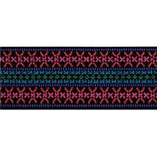 Эластичная лента Color Узор розовый, ширина 50мм, Prym, 957451