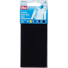 Заплатка термоклеевая, 100%хлопок, 30x10см, черный, 1шт в блистере 929400
