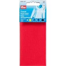 Заплатка термоклеевая, 100%хлопок, 30x10см, красный, 1шт в блистере 929407