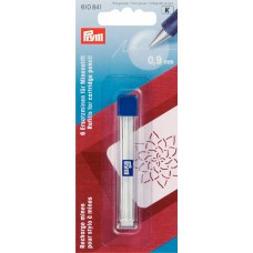 610841 Запасные карандашные графиты для механического карандаша, ? 0, 9 мм, белый цв.