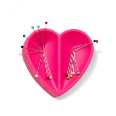 Серия Prym Love - Магнитная игольница Сердце,металл/пластик, ярко-розовый, Prym, 610284