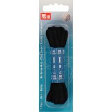 Канатные шнурки для ботинок 5 x 900 мм черный цв. 974890