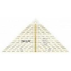 611313 Проворный треугольник с сантиметровой шкалой, для1/4квадрата до 20см, 1шт