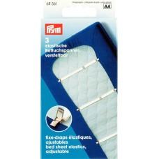 Держатели простыни (резинки с клипсами), Prym, 611561