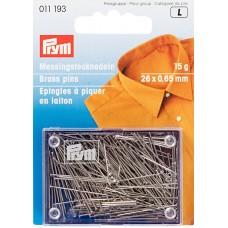 011193 Булавки для штор, рубашек, блузок 26*0,65мм, Prym