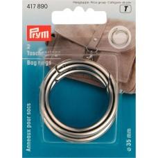 Кольца для сумок, диаметр 35мм, Prym, 417890