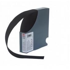Эластичная лента-велюр(резинка), 10м, 30мм, черная, 64%полиэ, 14%палиам, 22%эл, кассета 953186