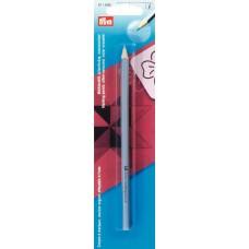 611606 Маркировочный карандаш, следы удаляются при помощи воды, серебристый, 1шт в блистере