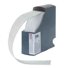 Эластичная лента для уплотнения шва 40 мм молочно-белый цв. 955508