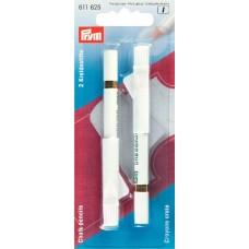 611625 Меловые карандаши со стирающей кисточкой, белые