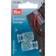 416660 Ограничители для шнура с одним отвествием, большие, Prym