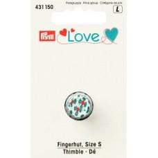 431150 Серия Prym Love - Наперсток, размер S, Prym