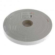 Крепкая резинка 25 мм белый цв.50м 955136