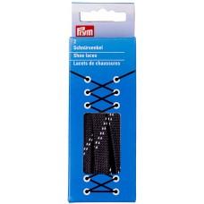 Шнурки для обуви водоотталкивающие, ширина 10мм, длина 100см, 100% полиэстер, Prym, 974760