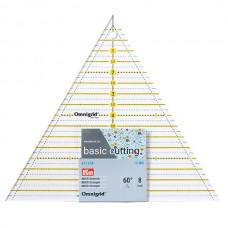 611658 Линейка Omnigrid для пэчворка треугольник 60°, сторона 8 дюйм, Prym