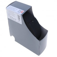 Мягкая эластичная лента, ширина 35мм (69% полиэстер, 31% эластан), черный, 10м в упак, Prym, 955410