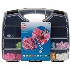 Набор кнопок Color Snaps в боксе + набор инструментов для установки кнопок, Prym, 393900