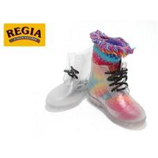 *  Ботинки Регия, резиновая обувь, прозрачная (пара) 9831.3777 (*, размер 29)