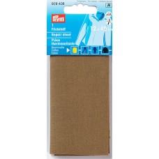 Заплатка термоклеевая, 100%хлопок, 30x10см, коричневый, 1шт в блистере 929406