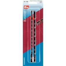 Линейка д/шитья и вязания, с сантиметровой шкалой, 1шт в блистере 611738