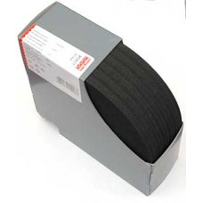 Эластичная лента-с дорожкой д/шва (резинка), 10м, 50мм, черная, 83%пол, 17%эл, рулон 955517
