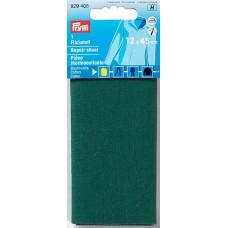 Заплатка термоклеевая, 100%хлопок, 30x10см, зеленый, 1шт в блистере 929405
