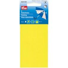 Заплатка нейлоновая, самоклеящаяся, 100%нейлон, 10x18см, желтый, 1шт в блистере 929505