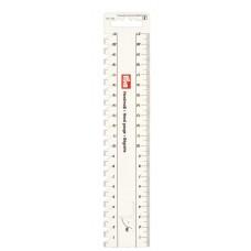 610730 Линейка д/разметки и измерения, облегчает разметку петель и нанесение надсечек, особенно подх