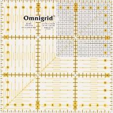 611306 Универсальная линейка с сантиметровой шкалой, растр, 15*15см, 1шт