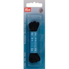 Круглые шнурки для ботинок 3 x 750 мм черный цв. 974820