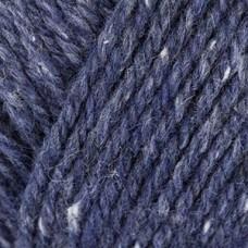 Trachtenwolle /Тречтенволе/ пряжа Schachenmayr Originals, MEZ, 9801876 (00053, jeans tweed, темно-синий)