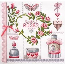 Набор для вышивания Розовое по рисунку О. Куреевой