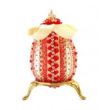 Набор для творчества декоративное яйцо Настурция