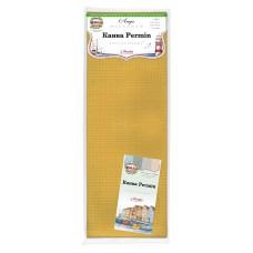 Канва в упаковке Aida 14 ct, 5,4 клетки на 1 см, цвет 240 жёлтый, 100 х 130 см