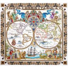 Набор для вышивания Карта мира