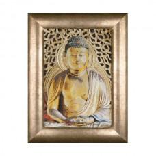 Набор для вышивания Будда, канва аида 18 ct