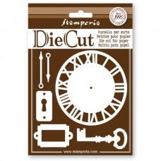 Набор ножей для вырубки декоративных элементов Циферблат, ключи...