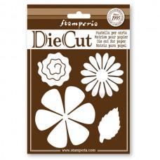 Набор ножей для вырубки декоративных элементов Цветы и листья