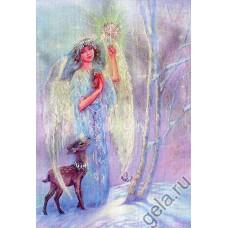 Набор для вышивания Ангел-хранитель зимы